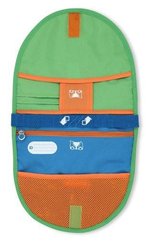 Image of Melissa Doug Trunki Saddlebag - Blue/Green