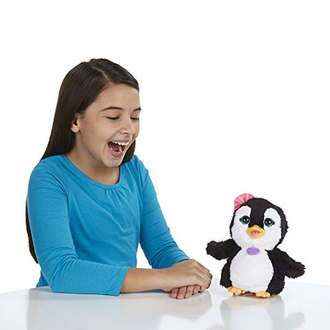 FurReal Friends Happy to See Me Pets Piper, My Dancing Penguin Pet