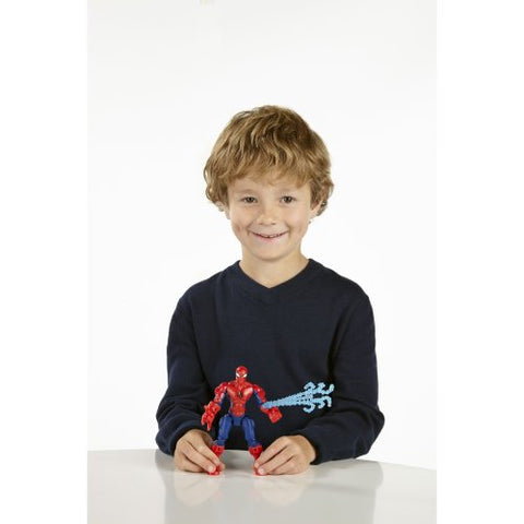 Image of Marvel Super Hero Mashers Spider-Man Figure 6 Inches