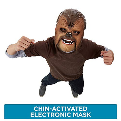 Image of Star Wars The Force Awakens Chewbacca Electronic Mask