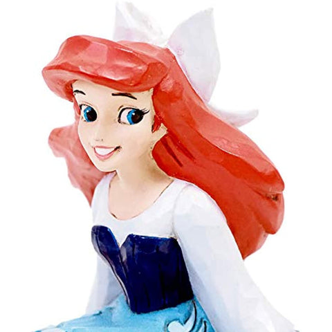 Enesco Disney Traditions by Jim Shore Ariel Personality Pose Figurine, 3.5 Inch, Multicolor