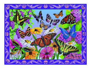 Melissa Doug Peel & Press Sticker by Number - Butterfly Sunset