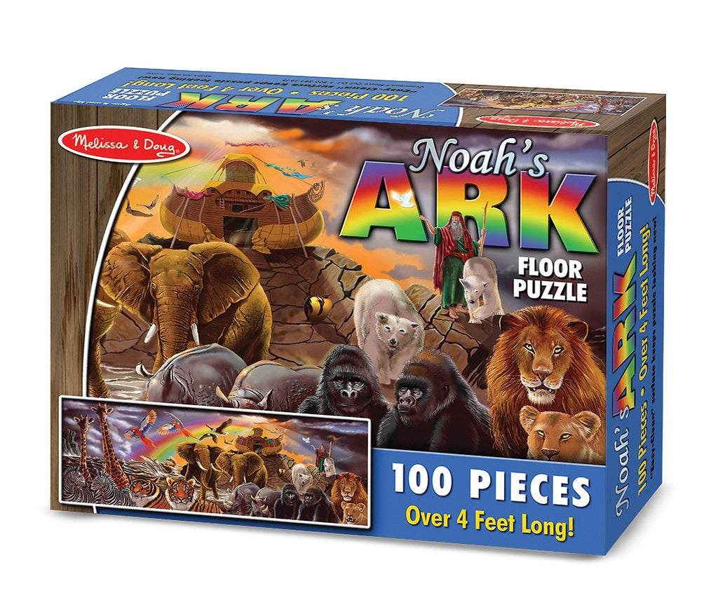 Melissa Doug Noah's Ark Floor (100 pc)