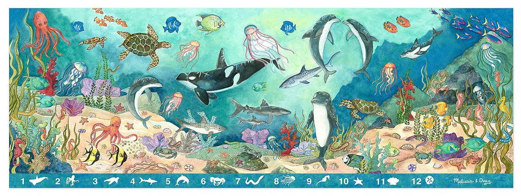 Melissa Doug Search & Find Beneath the Waves 4493