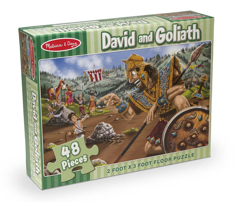 Image of Melissa Doug David & Goliath Floor Puzzle 4494