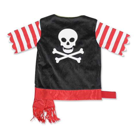Image of Melissa Doug Pirate Role Play Costume Set 4848