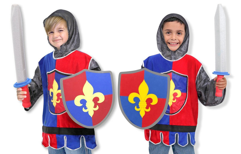 Melissa Doug Knight Role Play Costume Set 4849