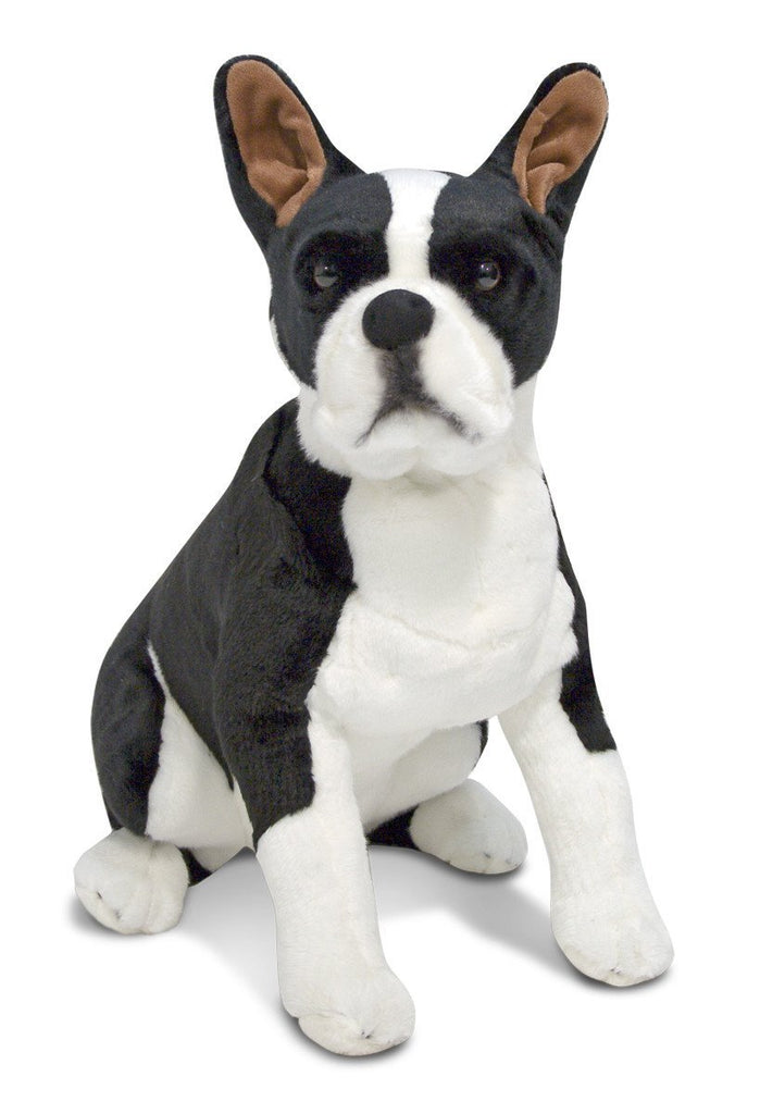 Melissa Doug Boston Terrier - Plush 4855