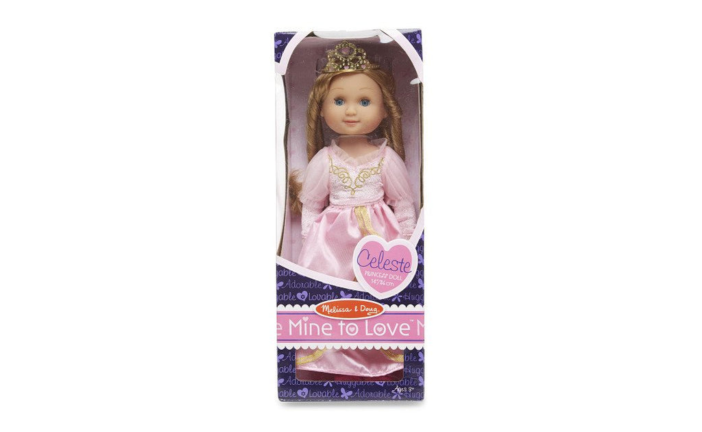 "Melissa Doug Celeste - 14"" Princess Doll 4878"