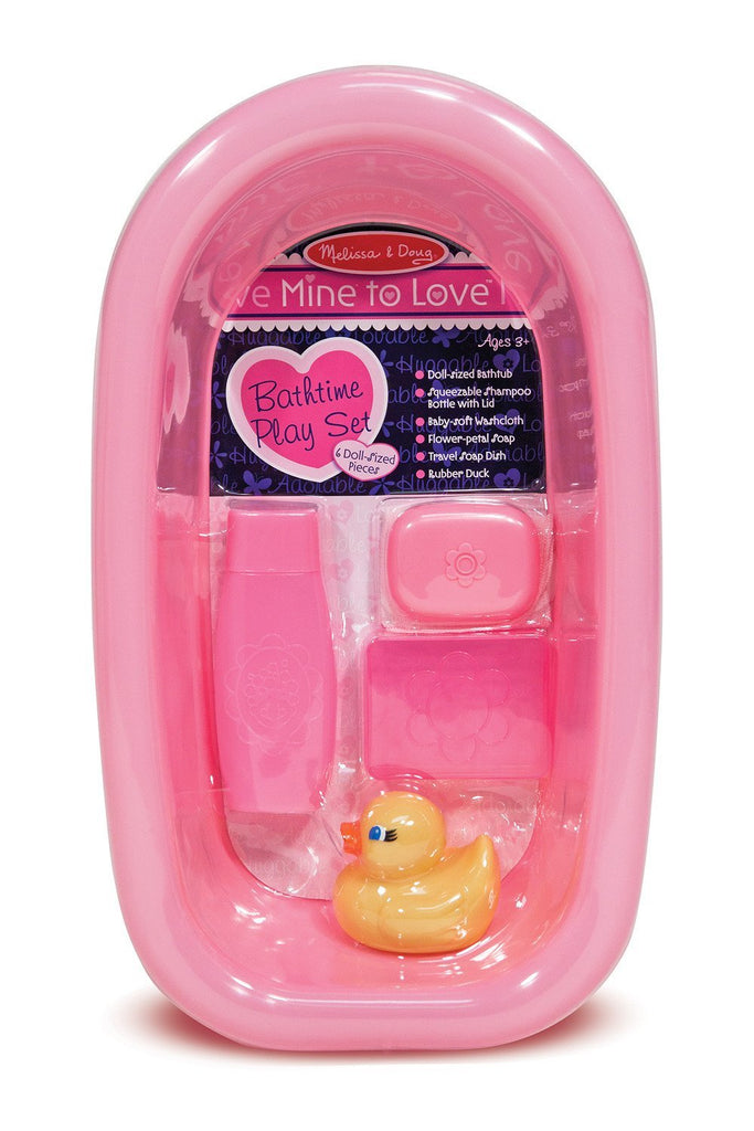Melissa Doug Mine to Love - Doll Bathtub Set 4893