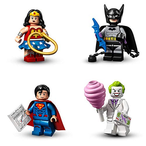 LEGO DC Super Heroes Complete Set of 16 Minifigures 71026