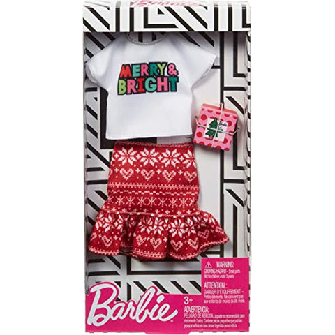 Image of Barbie Holiday Fashions - Merry & Bright