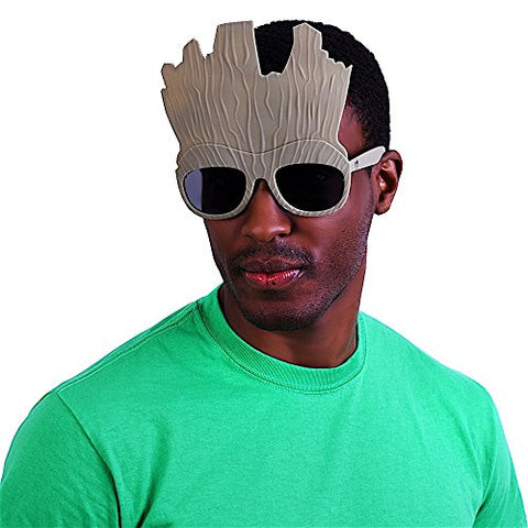 Image of Costume Sunglasses Guardians of the Galaxy Groot Sun-Staches Party Favors UV400