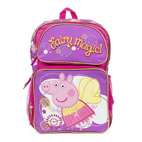 Peppa Pig Fairy Magic Backpack 16 inch