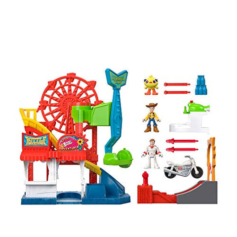 Image of Fisher-Price Imaginext Playset Featuring Disney Pixar Toy Story Carnival