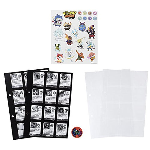 Image of Yokai Watch Yo-Kai Medallium Collection Book Pages