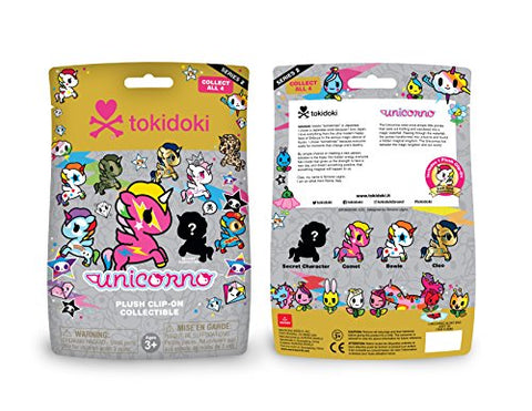 Image of tokidoki Aurora World Unicorno Plush Clip-on Collectible Series 2 Single Blind Bag