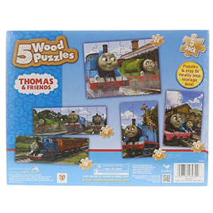 Cardinal Thomas & Friends 5 Wood Puzzle Set by Play Visions