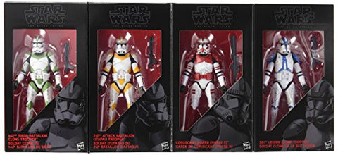 Image of Star Wars The Black Series Clone Troopers of Order 66 6-Inch Action Figures