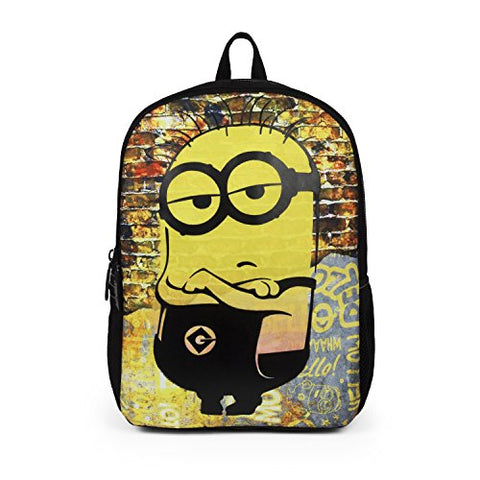"Mojo Life Despicable Me Minions""Cool Dude"" Backpack School Bag for Boys"