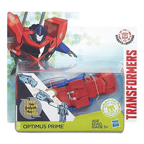 Transformers: Robots in Disguise 1-Step Changers Optimus Prime