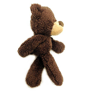 GUND Fuzzy Teddy Bear Stuffed Animal Plush, Chocolate Brown, 13.5