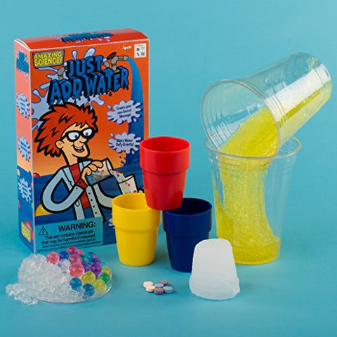 Image of Be Amazing! Toys Just Add Water Science Kit