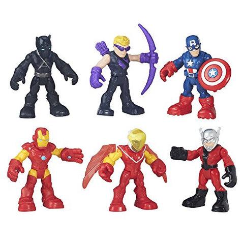 Image of Playskool Heroes Super Hero Adventures Captain America Super Jungle Squad