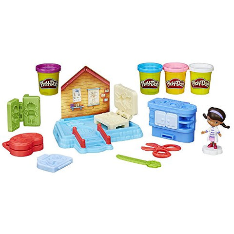 Image of Play-Doh Doc's Clinic Featuring Disney Doc McStuffins