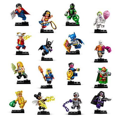 Image of LEGO DC Super Heroes Complete Set of 16 Minifigures 71026
