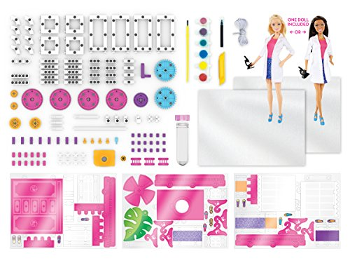 Thames & Kosmos Barbie STEM Kit with Barbie Scientist Doll