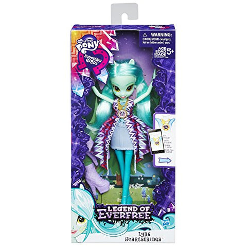 Image of My Little Pony Equestria Girls Legend of Everfree Lyra Heartstrings Doll