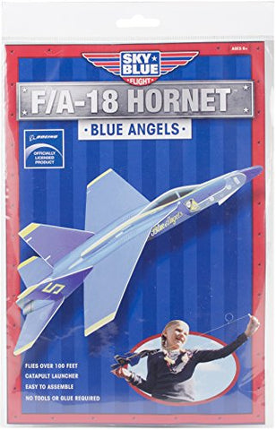 Image of Sky Blue Flight F/A-18 Hornet Blue Angels Model Kit