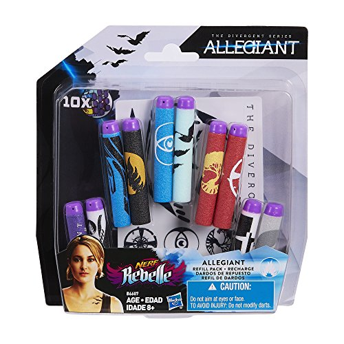 Nerf Rebelle The Divergent Series Allegiant Refill Pack