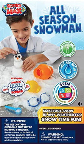 Be Amazing! Toys All Season Snowman Science Kit
