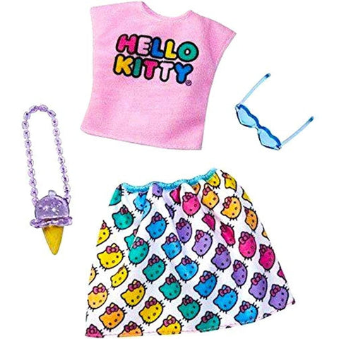 Barbie Hello Kitty Fashions