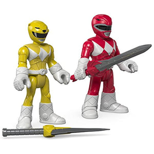 Fisher-Price Imaginext Power Rangers Red Ranger & Yellow Ranger