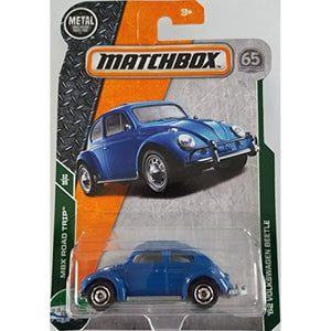 2018 Matchbox MBX Road Trip 12/35 - '62 Volkswagen Beetle (Blue)
