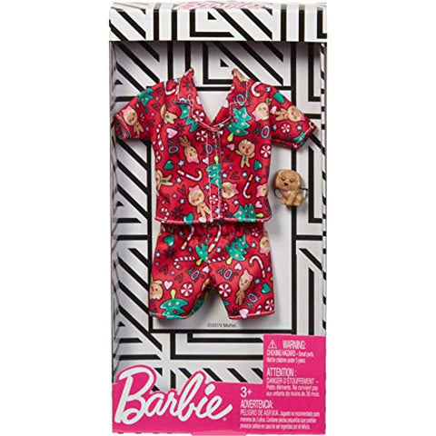 Barbie Holiday Fashions - Christmas Trees & Candy Canes