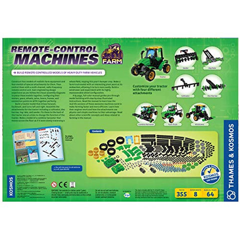 Image of Thames & Kosmos 620381 Remote Control Machines: Farm Science Experiment Kit