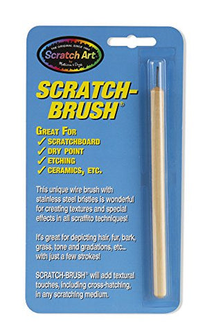 Image of Melissa & Doug Scratch Brush (Great Gift for Girls and Boys - Best for 8, 9, 10, 11, 12 Year Olds and Up)