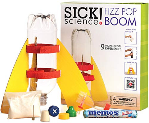 Be Amazing! Toys Sick Science Fizz Pop Boom Science Kit