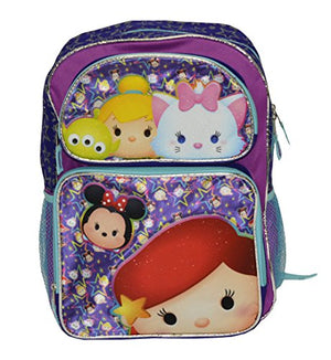 "Disney Tsum Tsum Starry Girls 16"" Backpack (One size, Purple/Multi)"