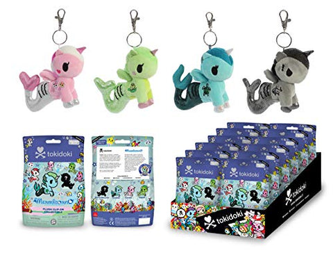 Image of Aurora World Mermicorno Plush Clip-On Collectible Series 2 Blind Bag