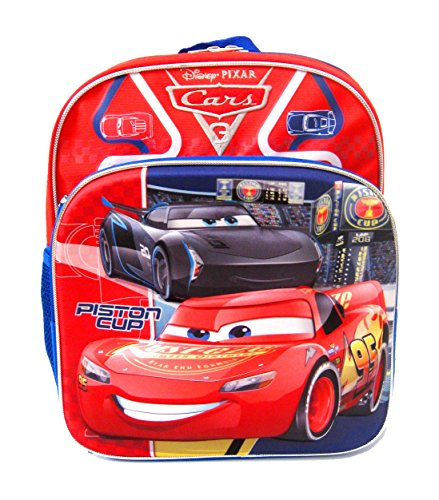 Disney Cars 3 Cars 3 Road Signs 3D 12-Inch Backpack