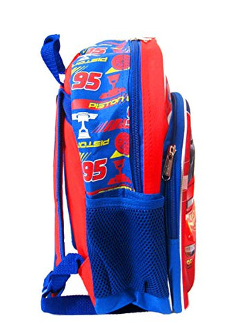 Image of Disney Cars 3 Cars 3 Road Signs 3D 12-Inch Backpack