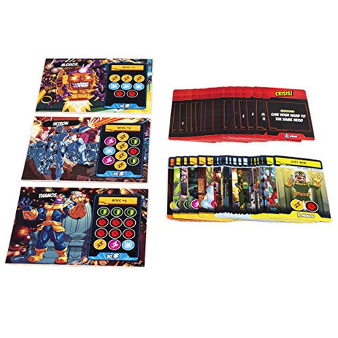 5-Minute Marvel, Fast-Paced Cooperative Card Game for Marvel Fans and Kids Aged 8 and Up