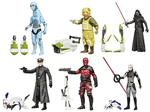 "Star Wars Episode VII The Force Awakens 3.75"" Jungle and Space Action Figure Wave 2 - Set of 6"
