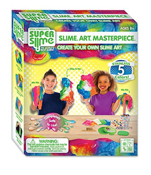Making Slime Art Kit for Girls and Boys Toys - Slime Making Kit for Kids - DIY Slime for Children - Ultimate Fluffy Slime Kit for Boys - Educational Arts and Crafts Activity Set Ages 7-12