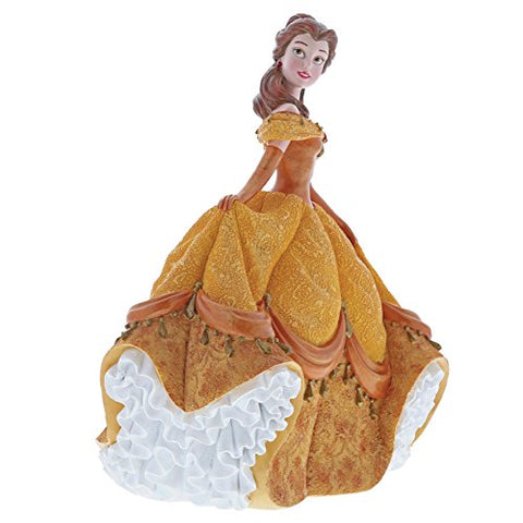 Enesco 4060071 Disney Showcase Couture De Force Belle Stone Resin Figurine, Multi